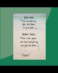 Ego en Spirit • Postkaart