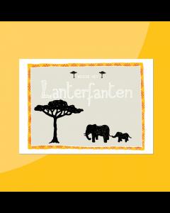 Lanterfanten • Postkaart