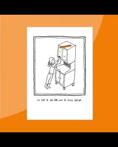Lat te Hoog • Postkaart