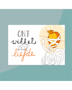 Ont-wikkel-zelf-liefde • Postkaart