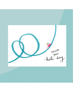 postkaart holi-day