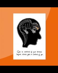 Reptielenbrein • Postkaart