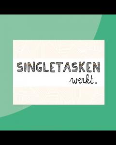 Singletasken • Postkaart