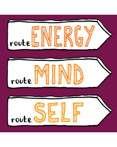 VIP-COMBI-ticket. Route ENERGY + MIND + SELF + Individuele coaching