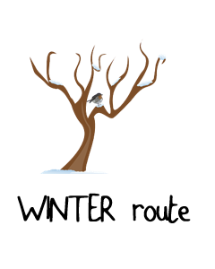 Winter-route